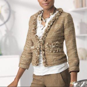 CAbi Medium tweed blazer